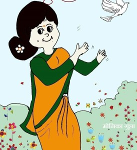 cartoon -mother love